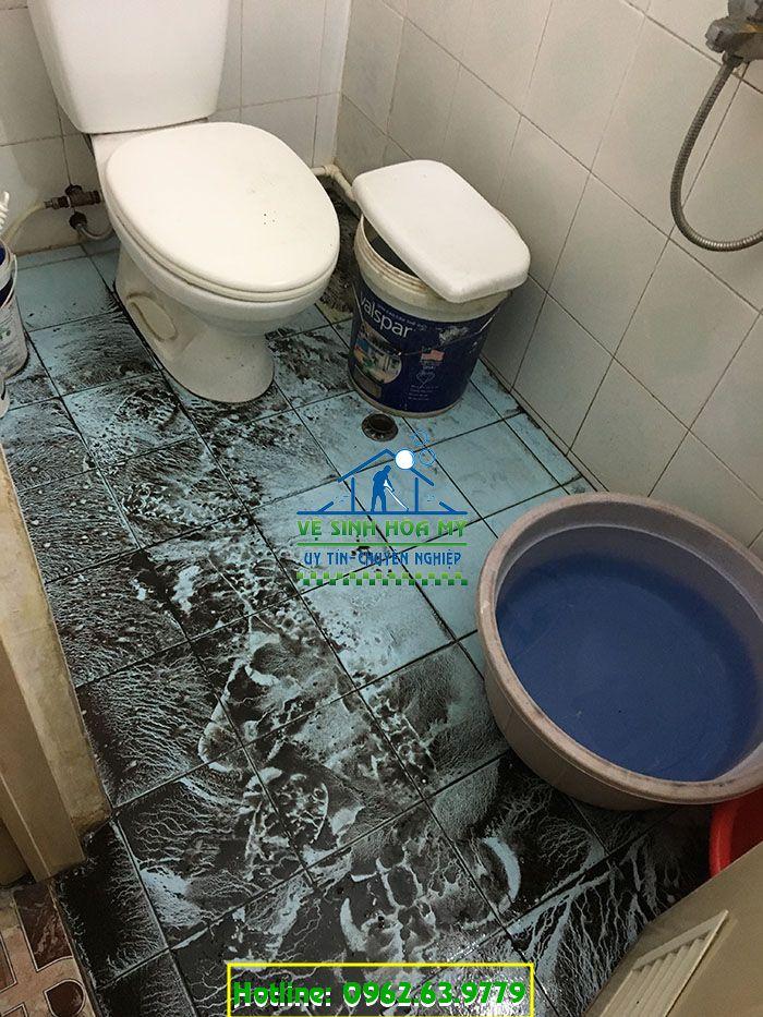 Nguồn nước sinh hoạt bị nhiễm bẩn trước khi được sử lý.
